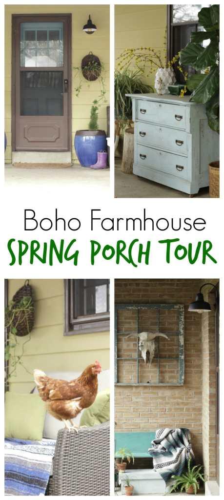 Boho Farmhouse Spring Tour