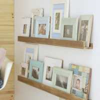 Easy DIY Photo Ledges