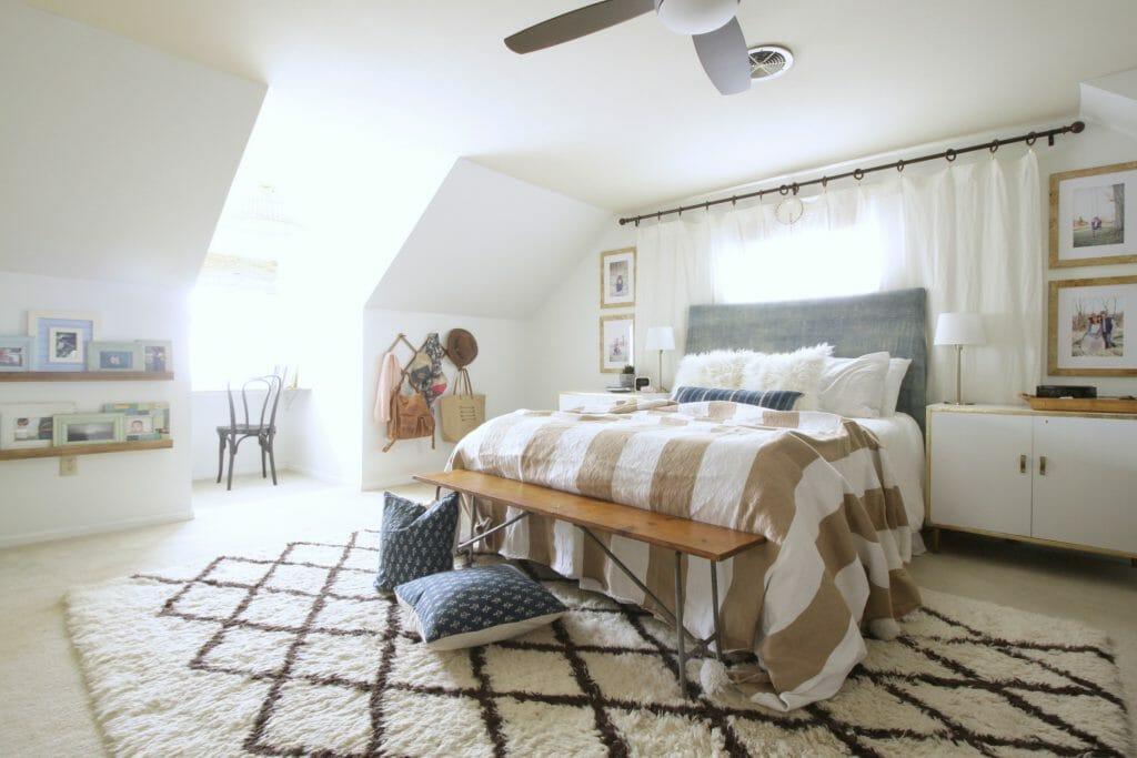 Modern Neutral Boho Bedroom