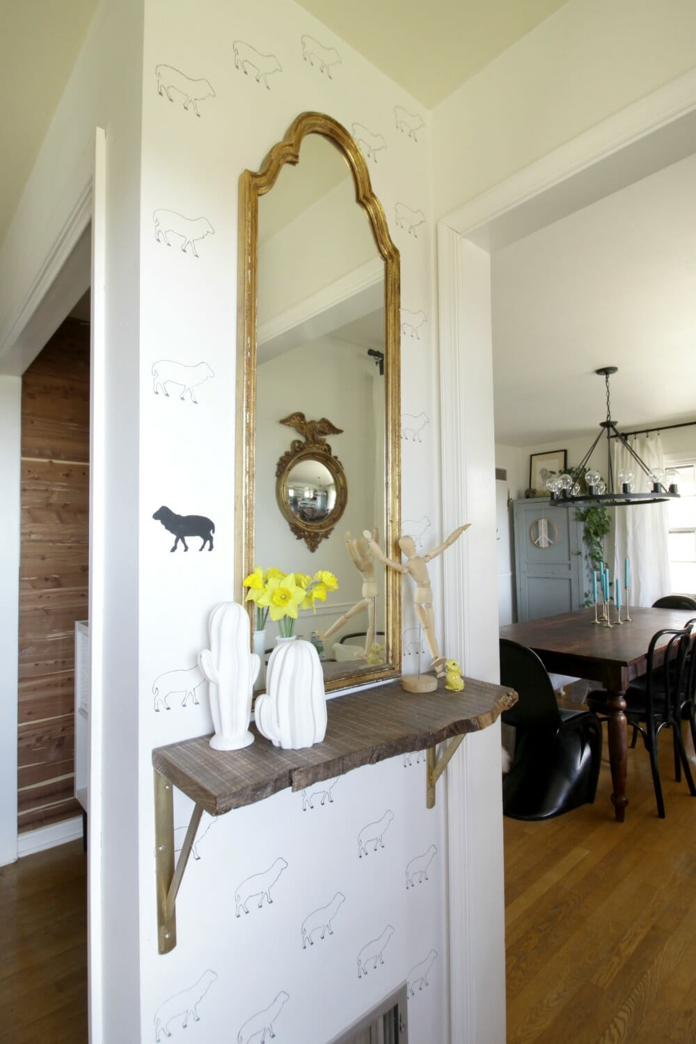 Project Design Entry: Making the Most of a Tiny Cape Cod Foyer with ...