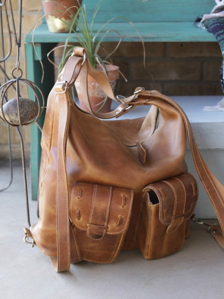 Anaya Camera Bag- India Leather