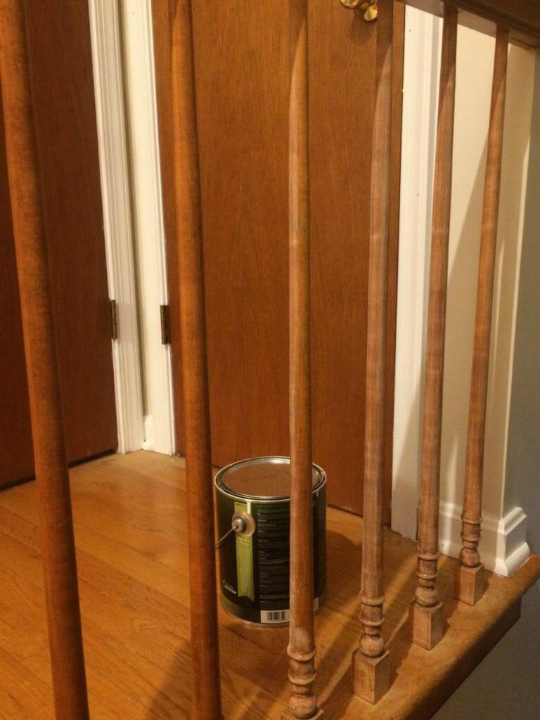 Sanded Stair Rails