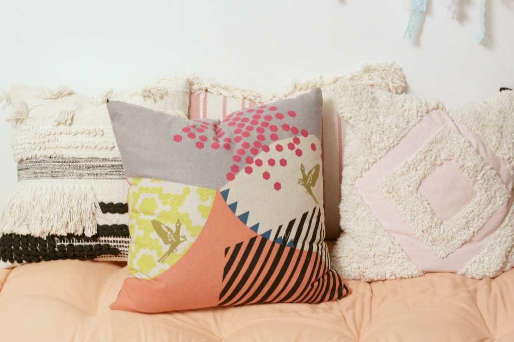 Janery Mountain Pinks Pillow