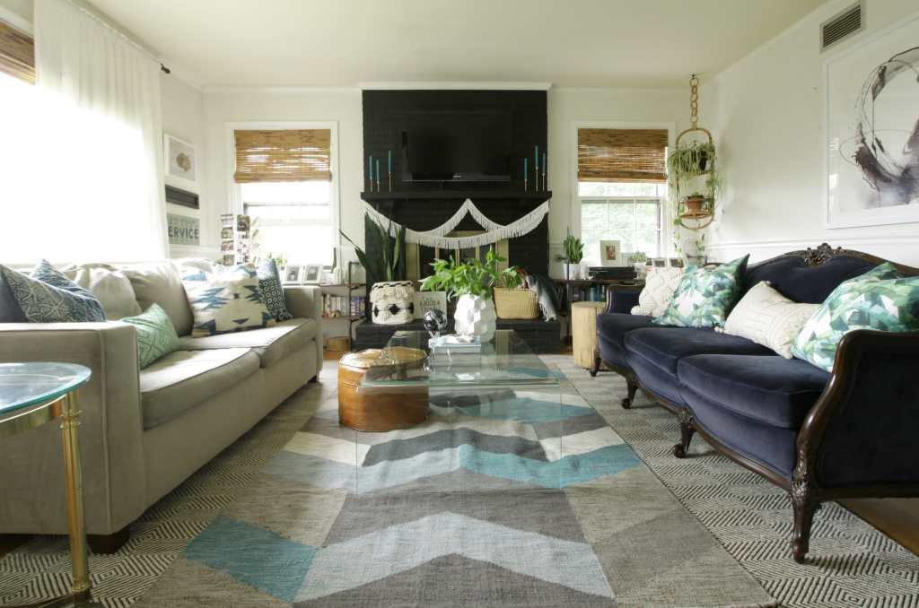Seasonal Simplicity Summer Living Room Tour