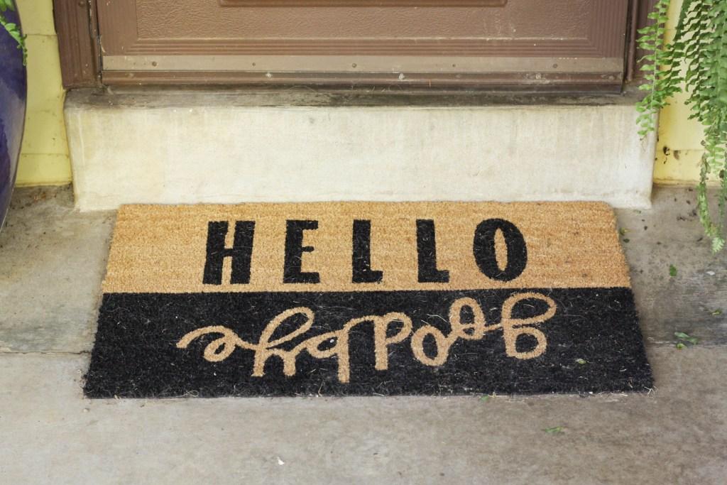 Hello Goodby Doormat