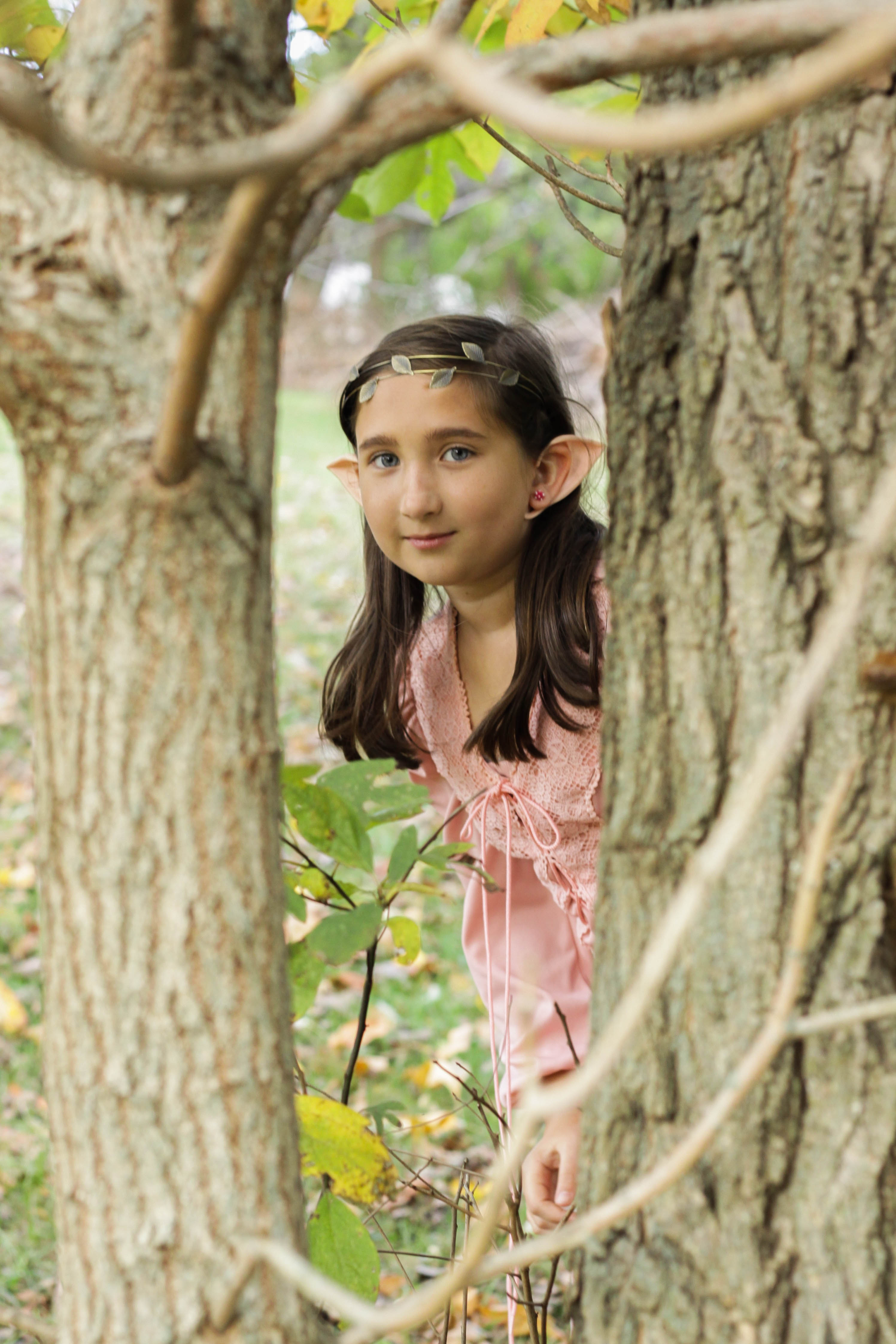 Magical Woodland Elf Costume like Lord of the Rings or Zelda  sc 1 st  Cassie Bustamante & Last Minute Easy Elf Halloween Costume for Girls or Women - Cassie ...