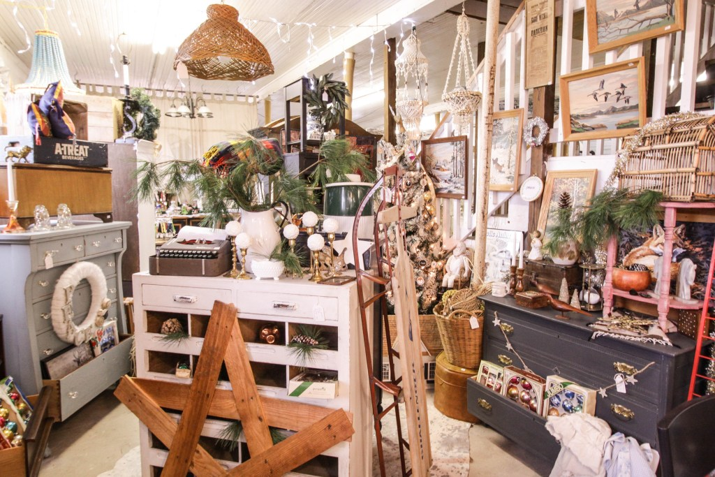 Cassie Bustamante Holiday Shop Space at Sweet Clover