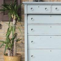 Furniture Makeover: Antique Clawfoot Dresser