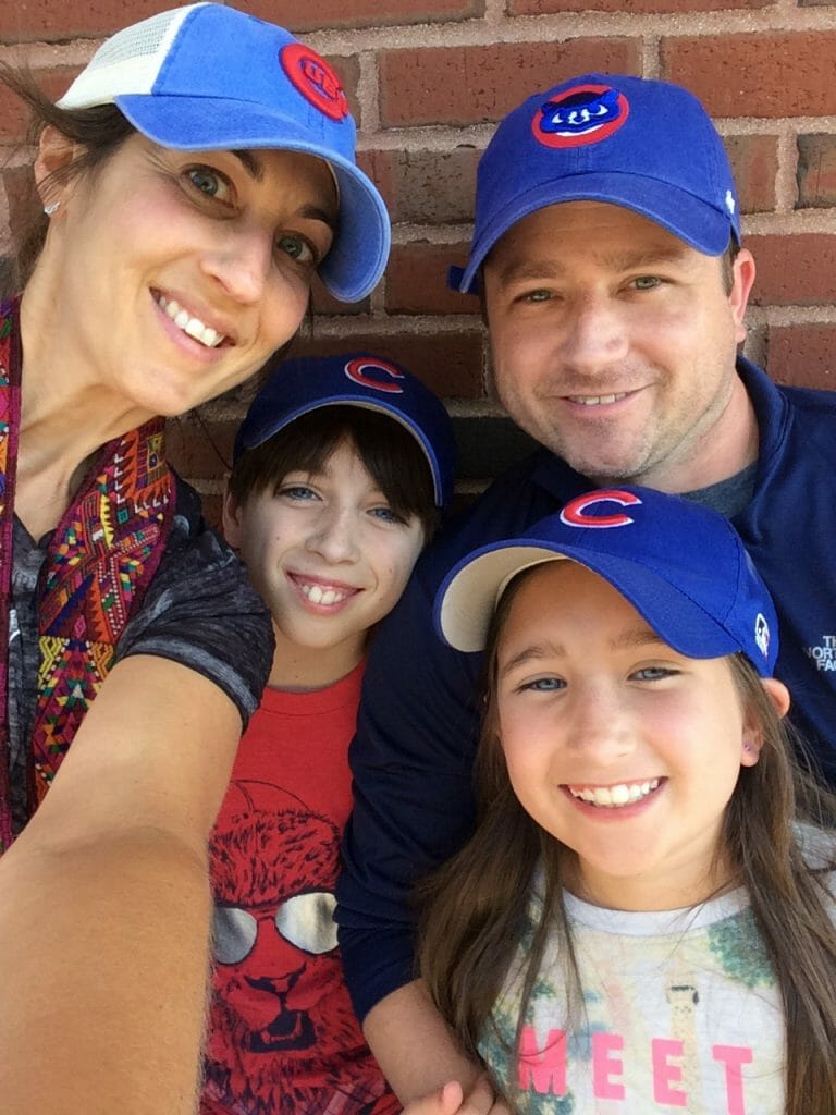 Cubs Family Photo