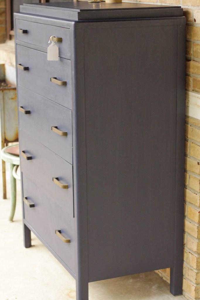 Masculine Shaped Vintage Dresser