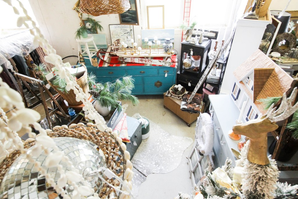 Shop space at Christmas