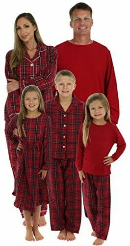 Plaid family pjs