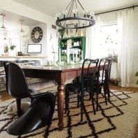 Eclectic Christmas Home Tour Part 2: Dining Room, Kitchen &