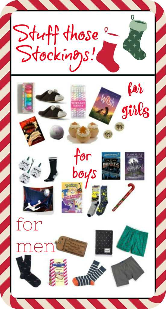 Stuffing Those Stockings: A guide for Men, Boys, and Girls