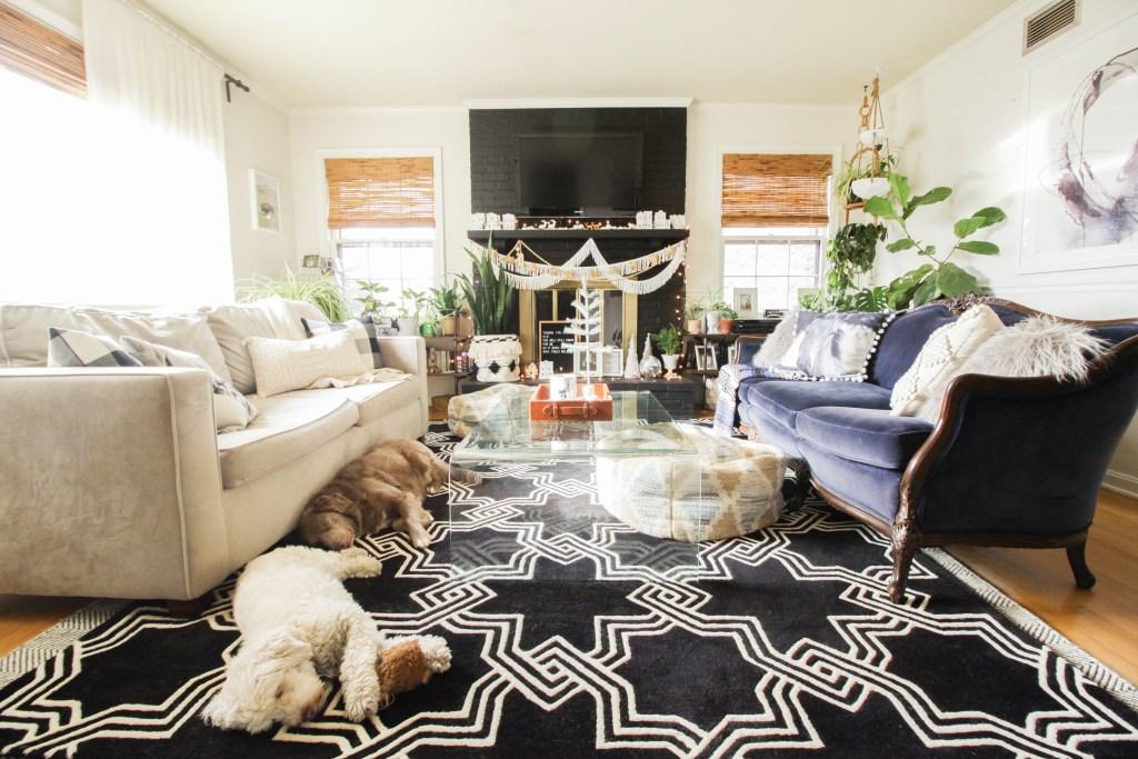 Eclectic Modern Vintage living Room