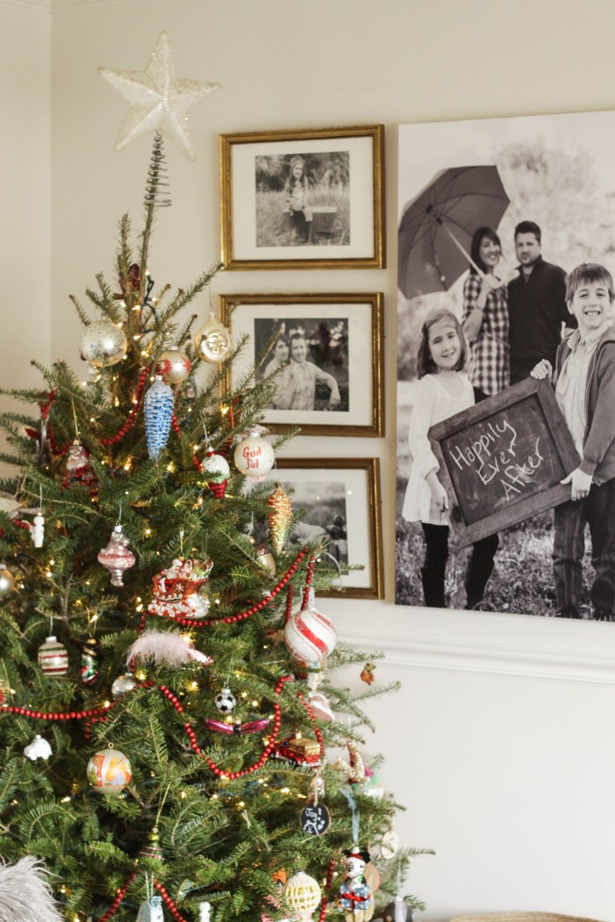 Eclectic Mixed Christmas Ornaments