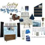 Earthy Modern Boy Nursery Design: Our Plans