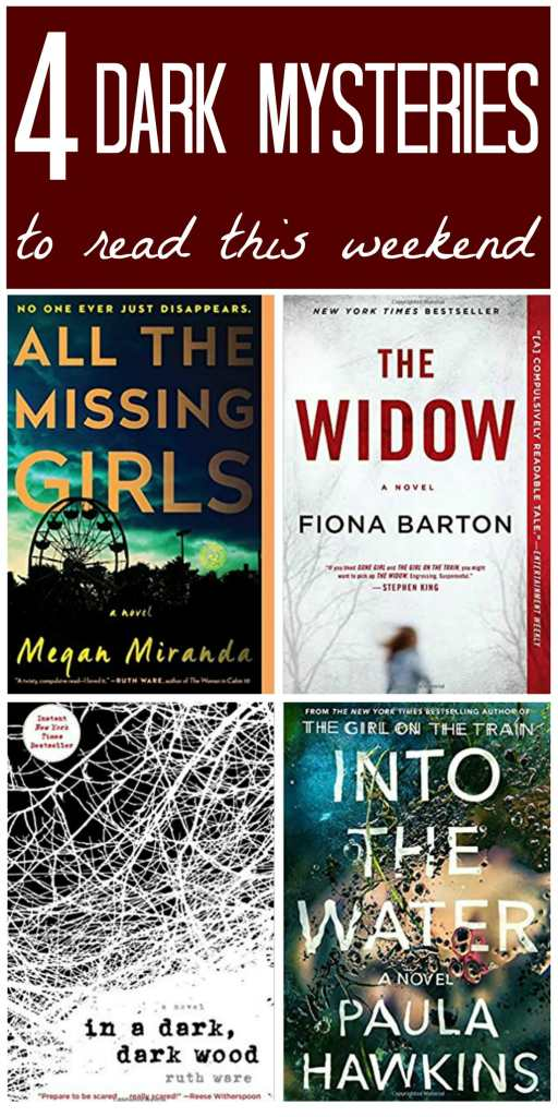 4 dark mystery novels to read now