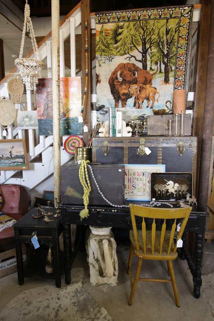 Vintage goods at Sweet Clover