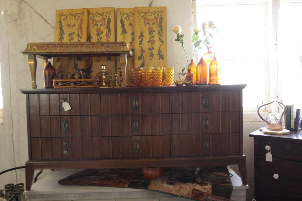 Unique Midcentury Dresser at Sweet Clover