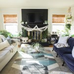 Eclectic Spring Home Tour: Blues in the Living Room