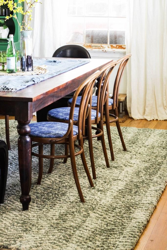 Dining Room Rug Refresh