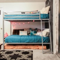 No Guest Room Solution: Playroom Bunk Beds