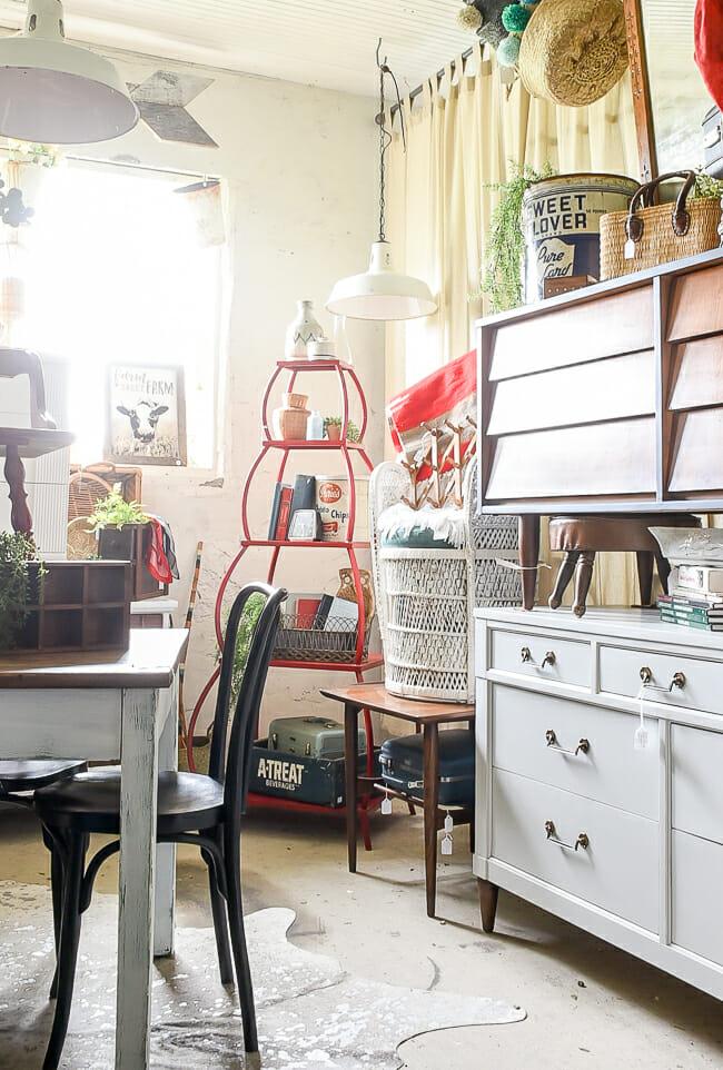 June Sweet Clover Sale red shelf