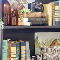 Sweet Clover August Sale Featuring Vintage Book Display Ideas