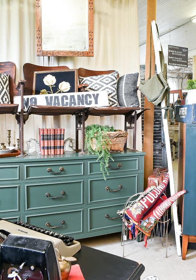 Green Dresser at Sweet Clover