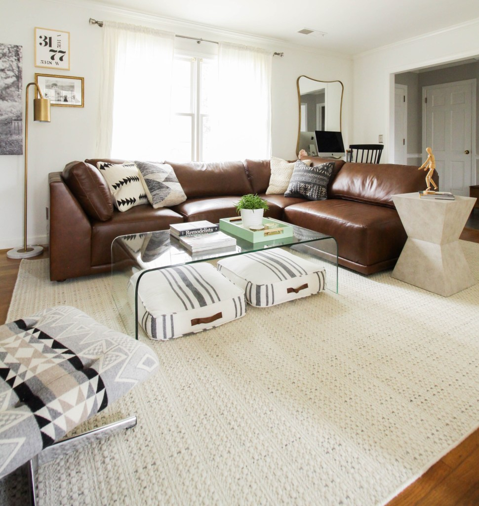 Living Room Progress With Bassett