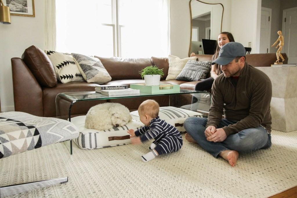 Bassett Furniture Cozy Modern Boho Living Room
