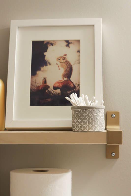 Ikea hack shelves