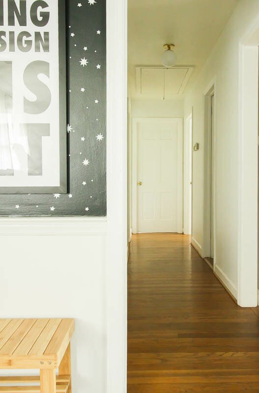 Midcentury Style Hallway Lighting
