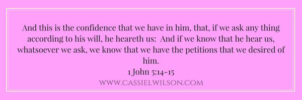 1 John 5-14