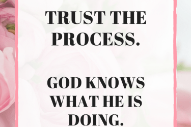 Trusting the Process: God is the Potter