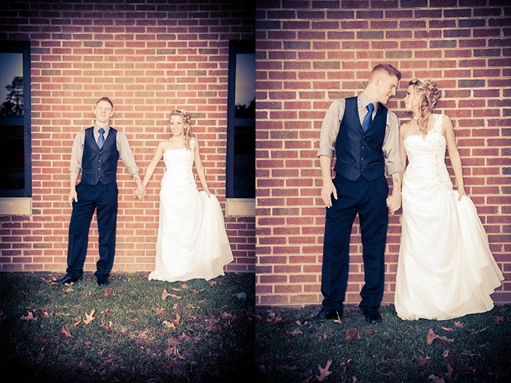 bride-groom-brick-wall