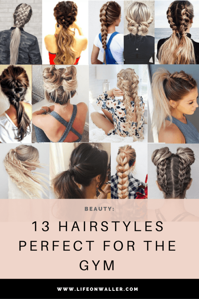 13 hairstyles perfect for the gym - cassie scroggins