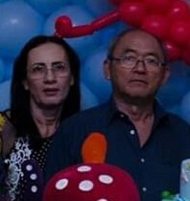 Arnaldo Muranaka e a sua esposa Arlene