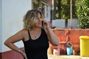 La presidentessa del Colosseo Daniela Pontone