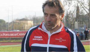 Ezio Castellucci, allenatore del Cassino