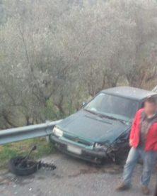 Particolare Auto Incidente