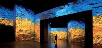 Immagine di Archivio - Mostra Van Gogh Alive di Torino