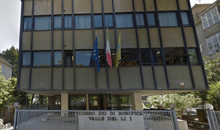 consorzio di Bonifica Valle del Liri sede di Cassino