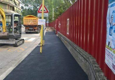 Cassino – In rifacimento stradale in via Herold, interessata la scuola