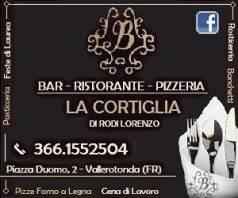 Ristorante Pizzeria La Cortiglia - Vallerotonda