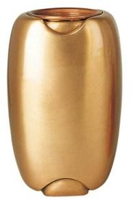 Vaso in lega di bronzo verniciato