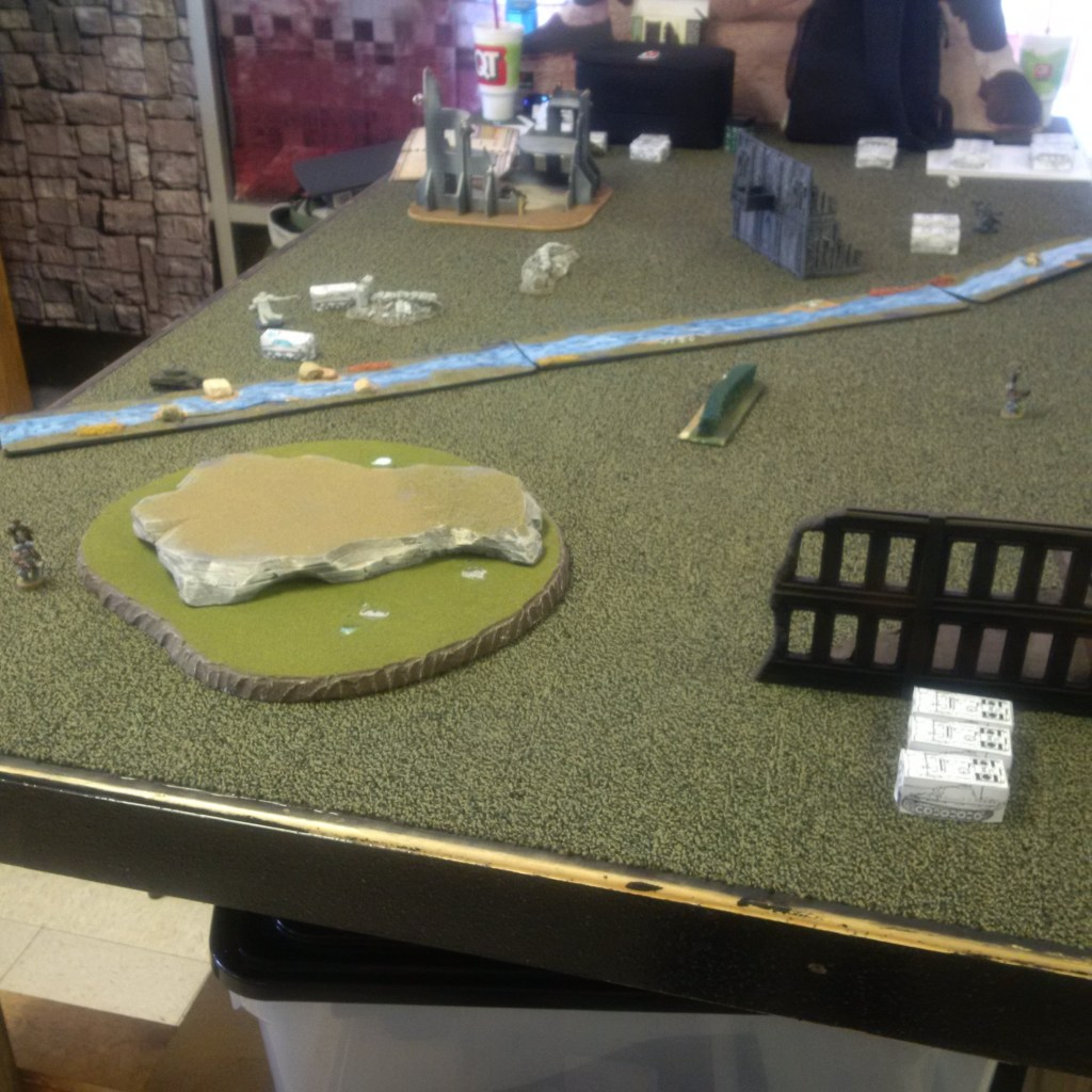 Battle 1 Deployment