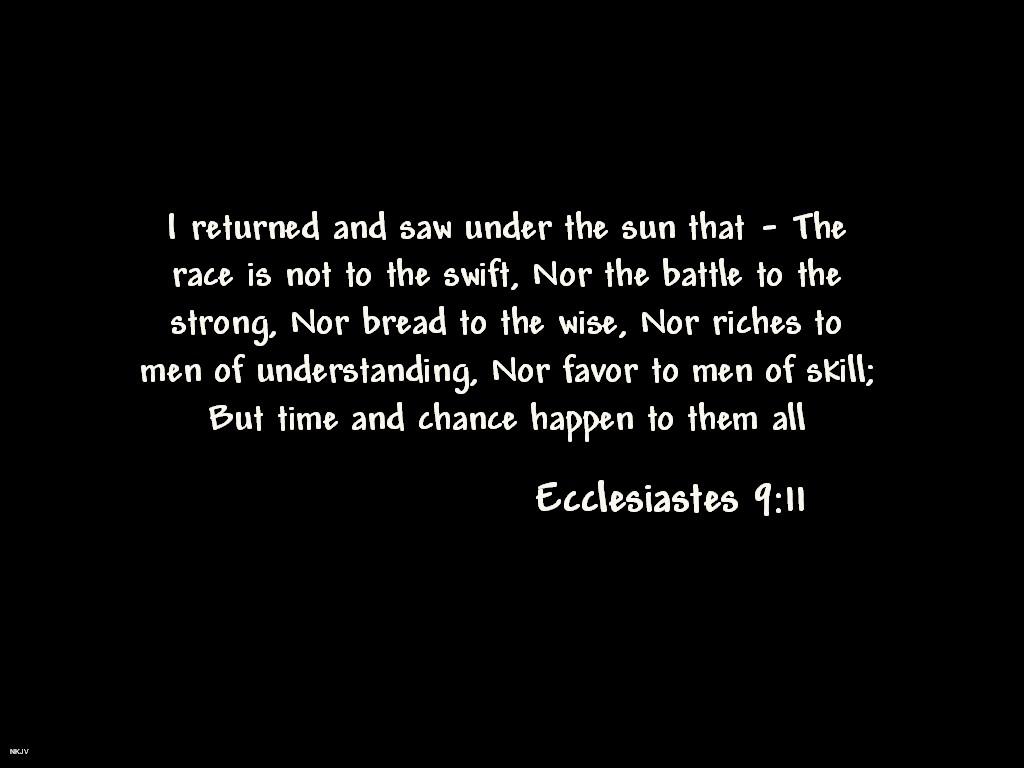 ecclesiastes-911