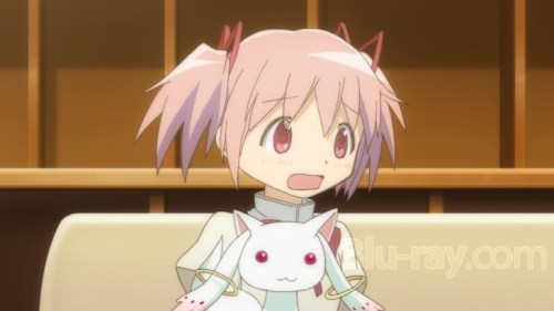 Madoka and Kyubey